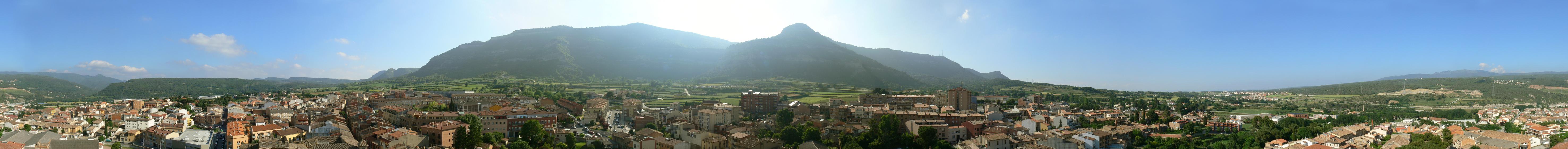 Vista 360 des de la Parròquia de Centelles