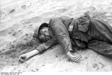 Sowjetunion, gefallener deutscher Soldat